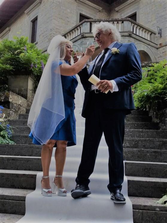 b85410a772d55c Abiti da sposa colorati...La grande tendenza del 2017! | E.Vento Arezzo
